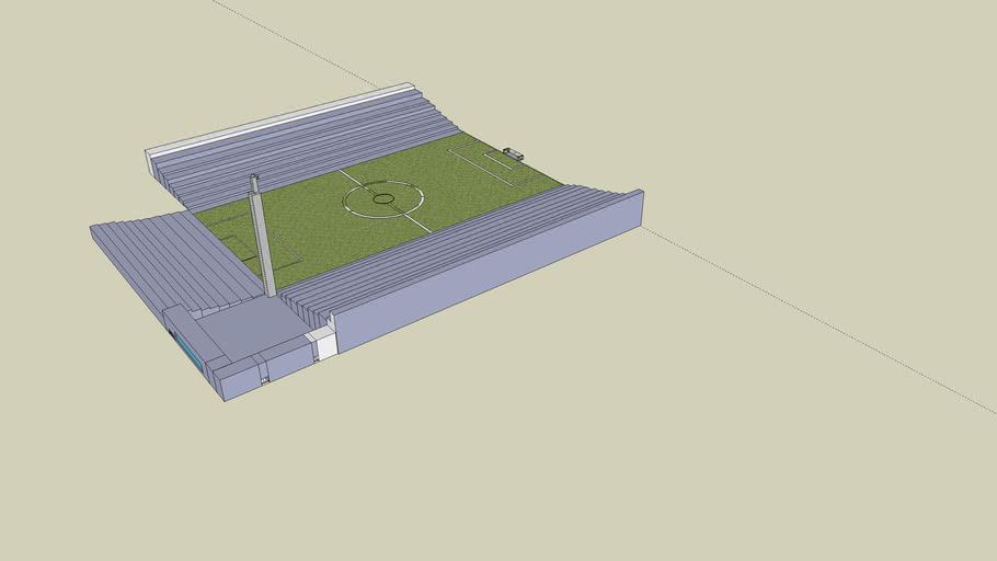 a small football stadium