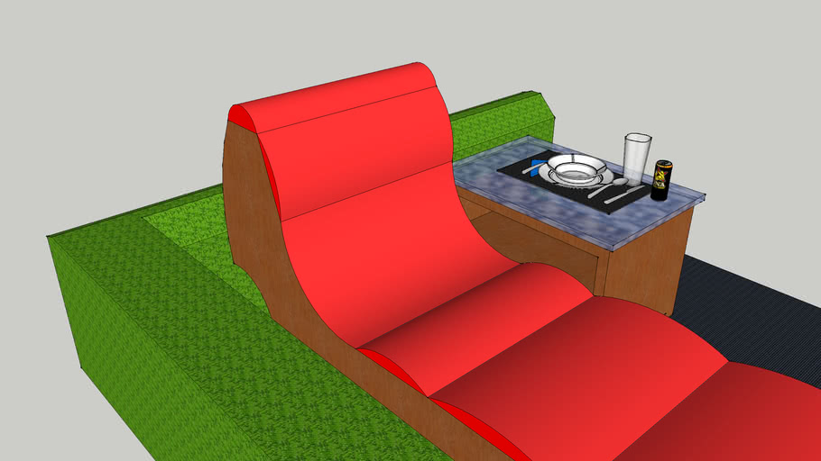 outside lounge chair