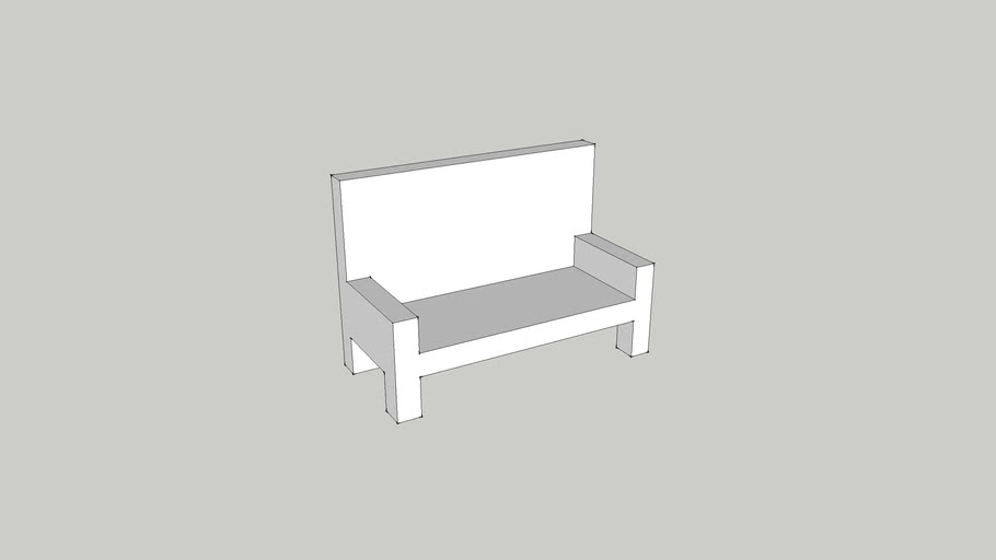 Love Seat (Rough)