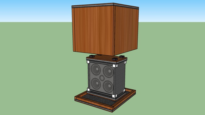 Bass Isolation Cabinet