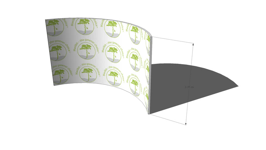 Maxibit Stage Curved (4x2) for freestyle drawing©