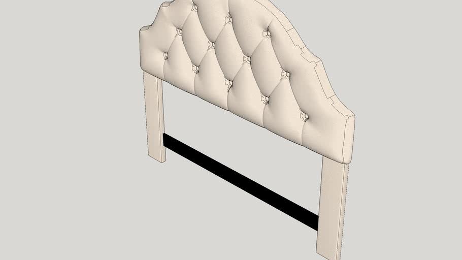 Joyce Upholstered Panel Headboard