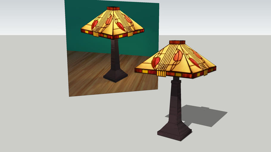 Lamp Stained Glass