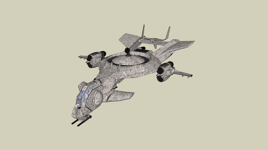 BGO Support Ship (Textured)