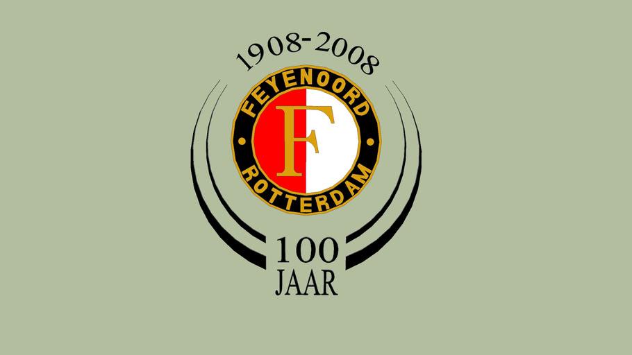 Feyenoord 100 jaar logo