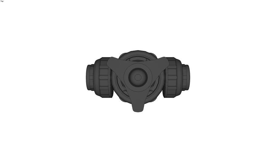 True Union Diaphragm Valve type 14 - JIS10K, Threaded type