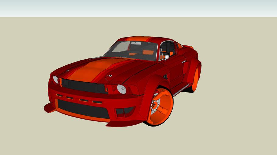 Tuned Saleen GT 500