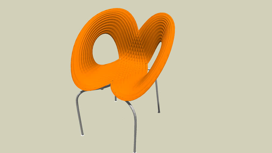 chair orange