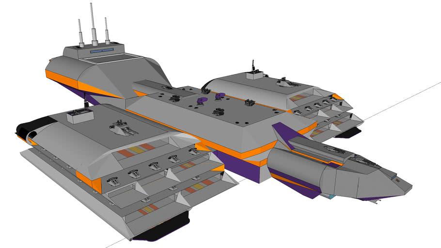 MBBC Proximus M154 - cruiser-base class