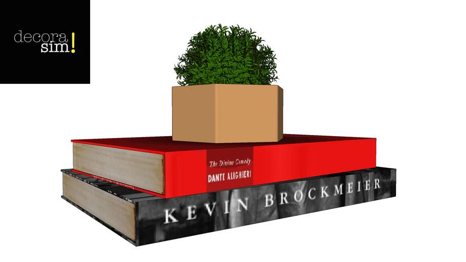 Vaso + livro convertidos