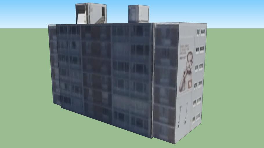南非 开普敦的建筑模型