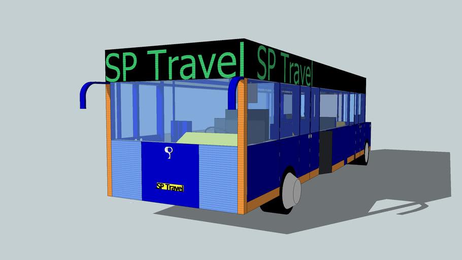 SP Travel met open achterdeuren