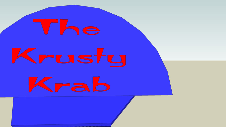 The Krusty Krab and The Krusty Krab 2 replica