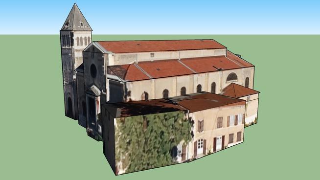 Eglise de Sainte-Foy-lès-Lyon, France