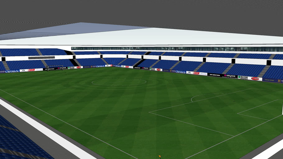 Ferny Field Football Ground : Home To Oldham Athletic