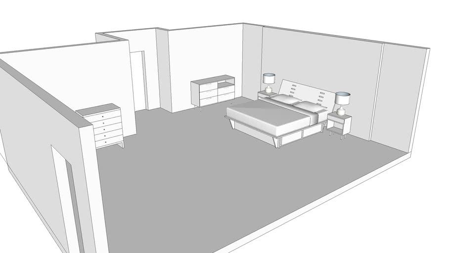 Interior Bedroom Sketchup Essentials 3 3d Warehouse