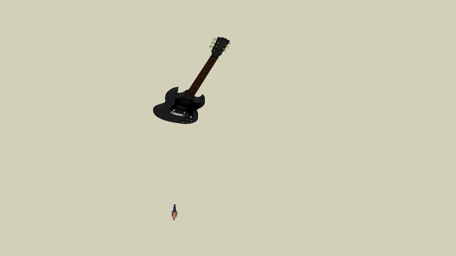 Gibson Sg Ebony