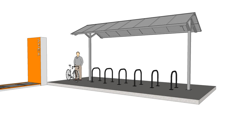 """Apex"" Bicycle Shelter"