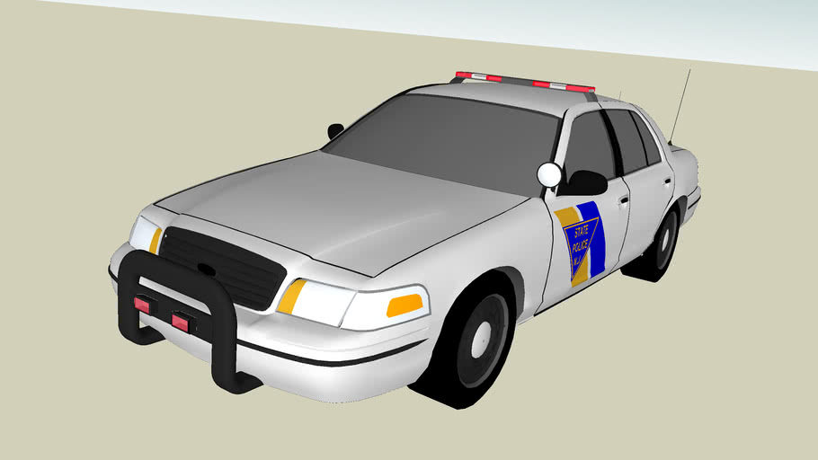 New Jersey State Trooper Police Interceptor