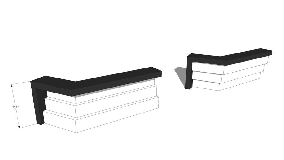 Free SketchUp Sales Counter 3D model_#1_agcaddesigns