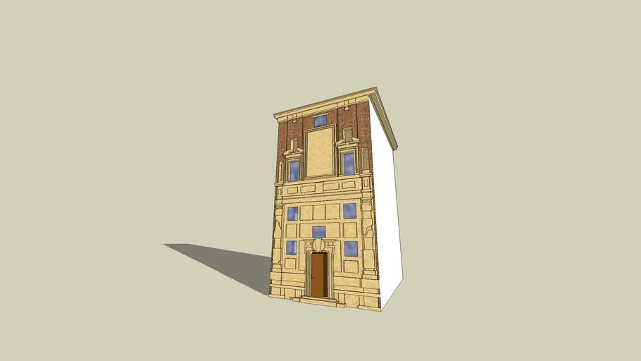 Casa Zuccari - Fassade