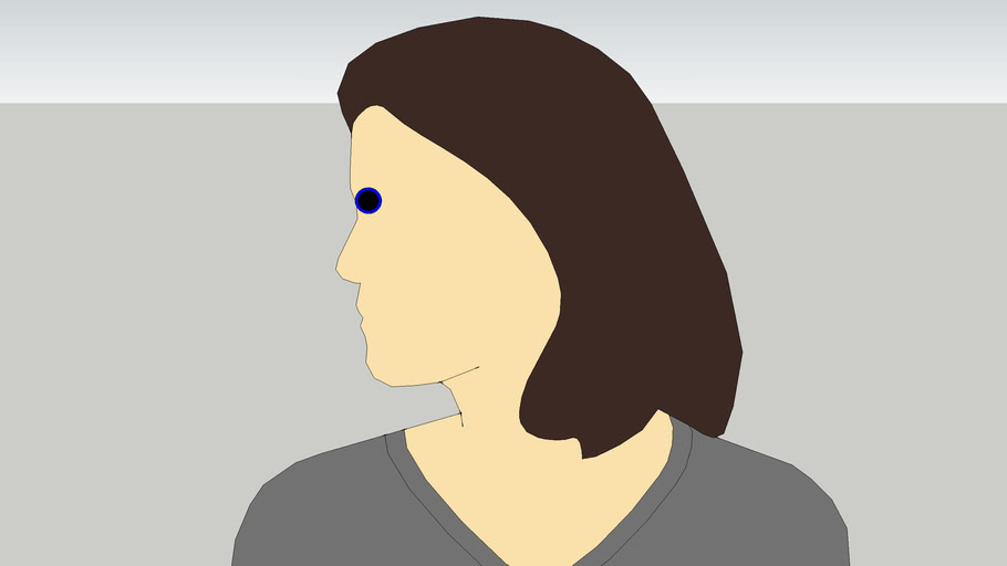 Laura with an eye!!!