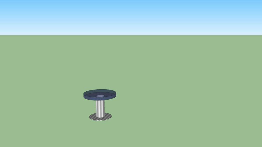 mesa lateral redonda
