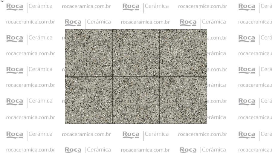 ROCA - PP FLAKE GRIS MATE 90X90 RET