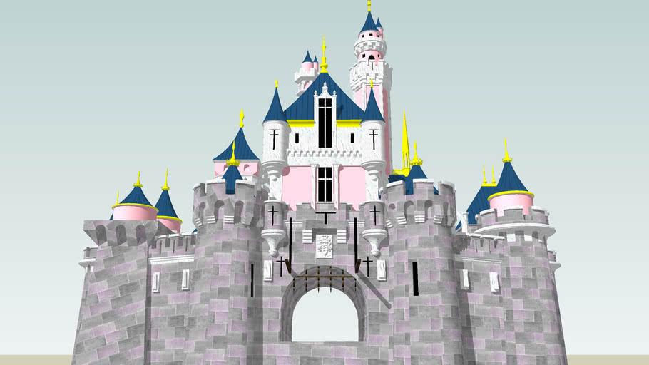 Disneyland Sleeping Beauty Castle (Updated, Not Finished)
