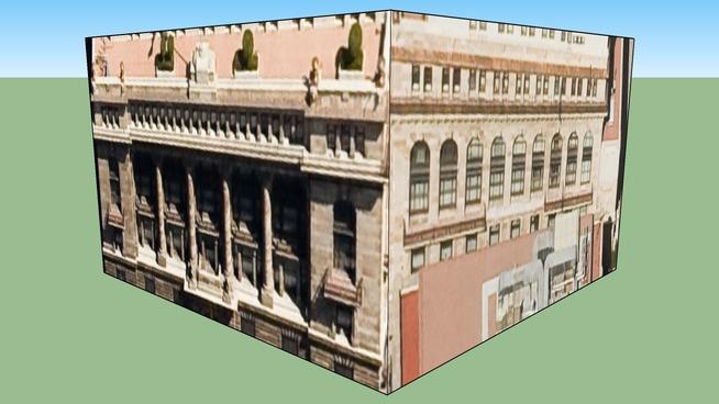 Bâtiment situé Mexico, D.f., Mexique
