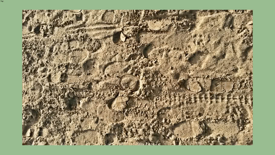 Sand road texture