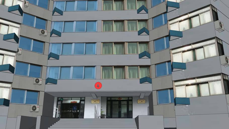 曲阳新村(上农新村)建工小区4号楼(High-rise residential buildings)=CHN=
