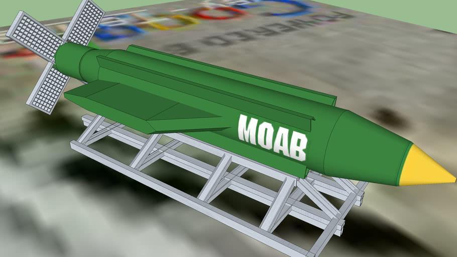 GBU-43/B Massive Ordnance Air Blast bomb