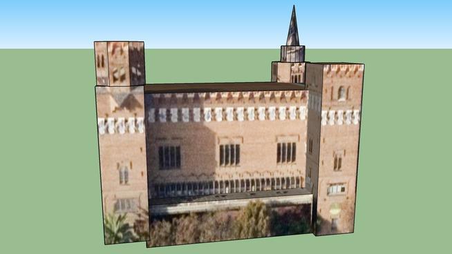 Castell dels Tres Dragons, Barcellona, Spagna