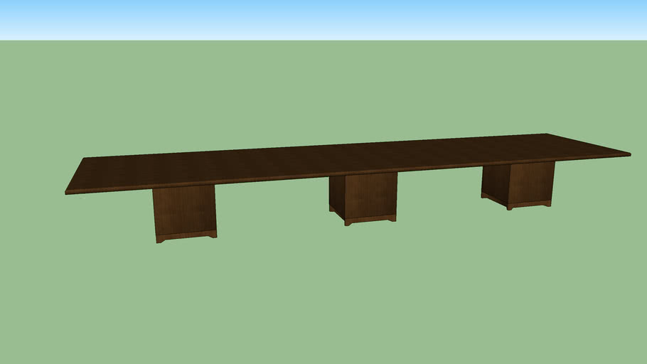 Park Towers - Large Conference Room Table