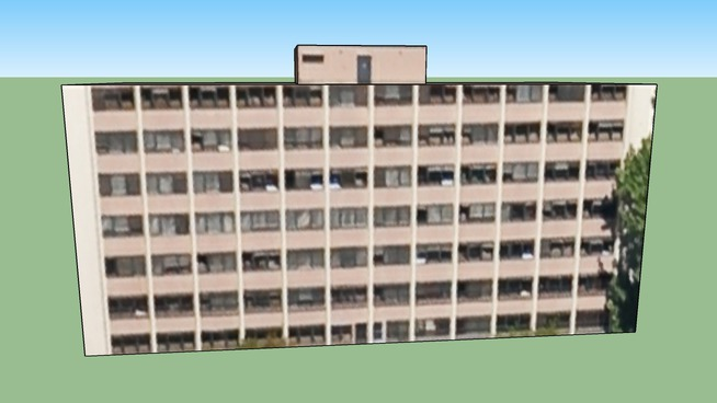 Bâtiment situé 69100 Villeurbanne, France
