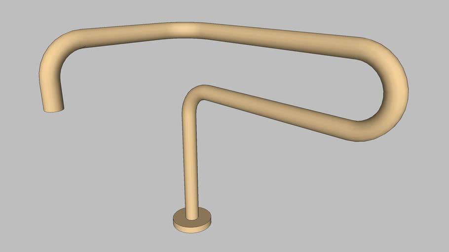 DOCOL - Bica para banheiro Conexões Espontâneas ouro jateado - Irmaos Campana