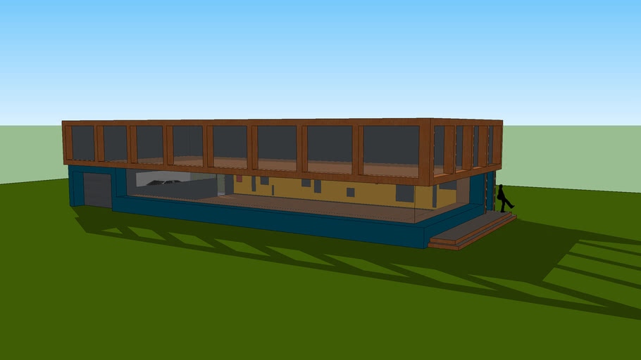 "Modern ""dream house"" WIP"