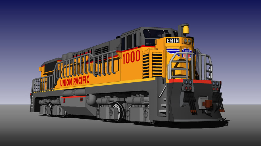 "ADLM E600 ""Trainmaster Two"" for Union Pacific Railroad"