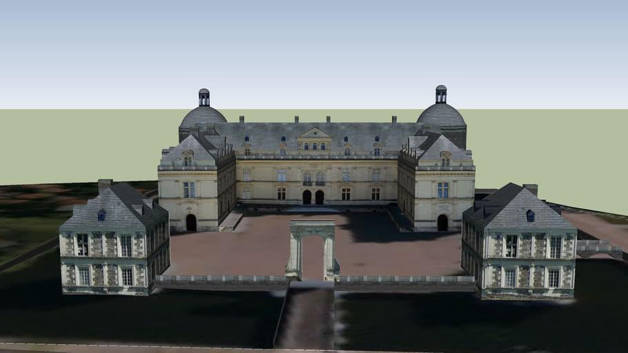 Chateau de Serrant, Saint Georges S/ Loire, Maine et Loire, FRANCE