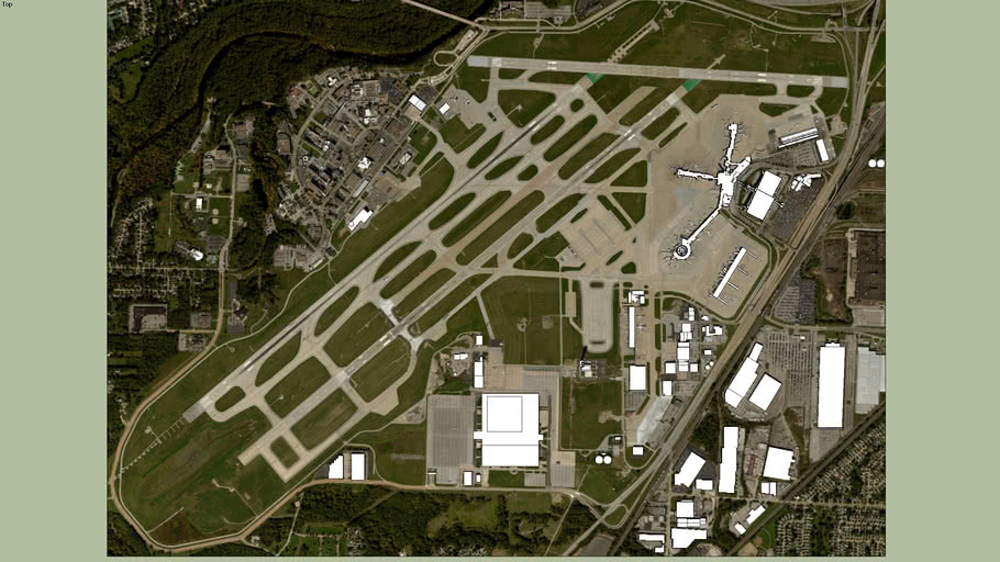 Airport Ground for KCLE Cleveland_Hopkins_Intl