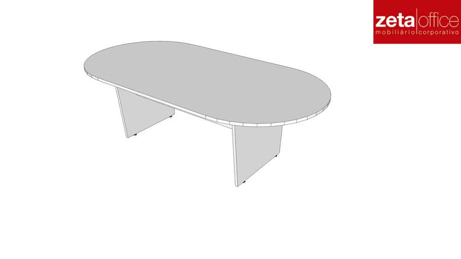 Mesa Reunião Oval - Wood