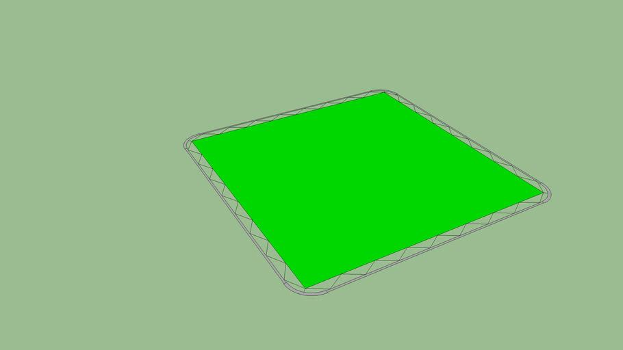 12' x 12' Chroma Green/Blue