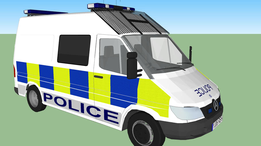 Mercedes Sprinter Public Order Police Van UK