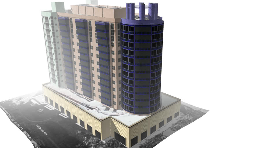 Highrise Apartment building Ocean Drive