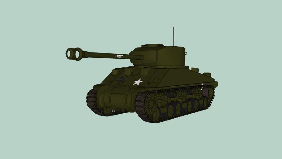 """M4A3E8 Sherman """"Fury"""""""