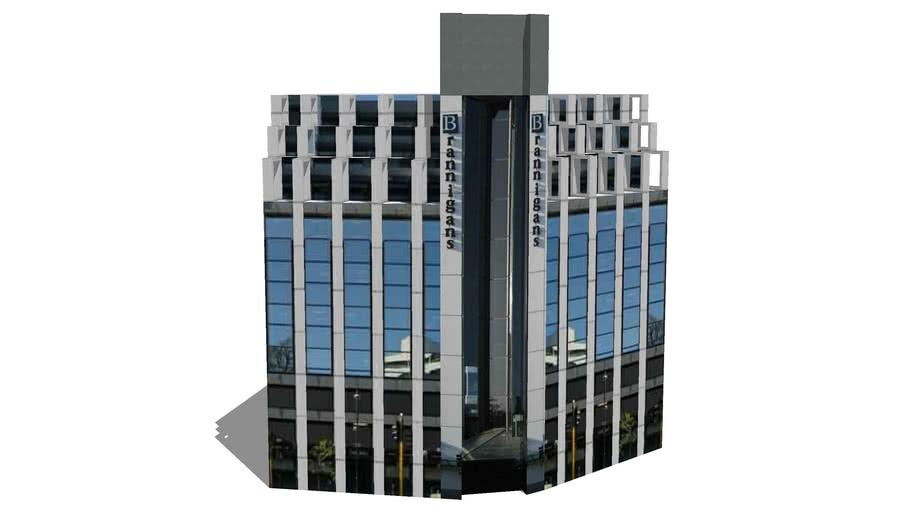 Brannigans Building, Gloucester & Oxford Terrace, Christchurch, NZ