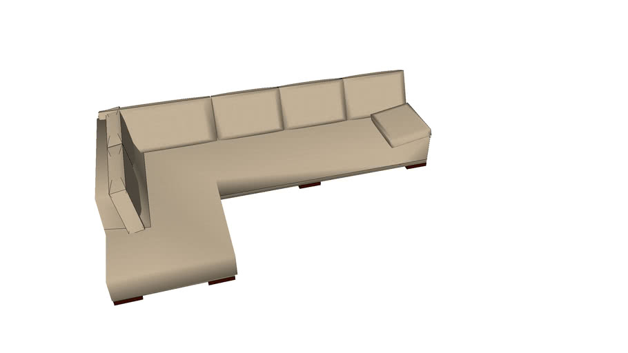 SCAN DESIGN 625 sectional