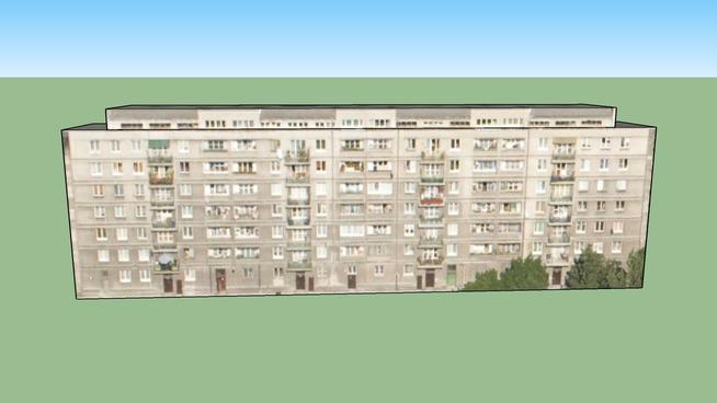Blok mieszkalny - Praga Północ,   Warszawa,  Polska