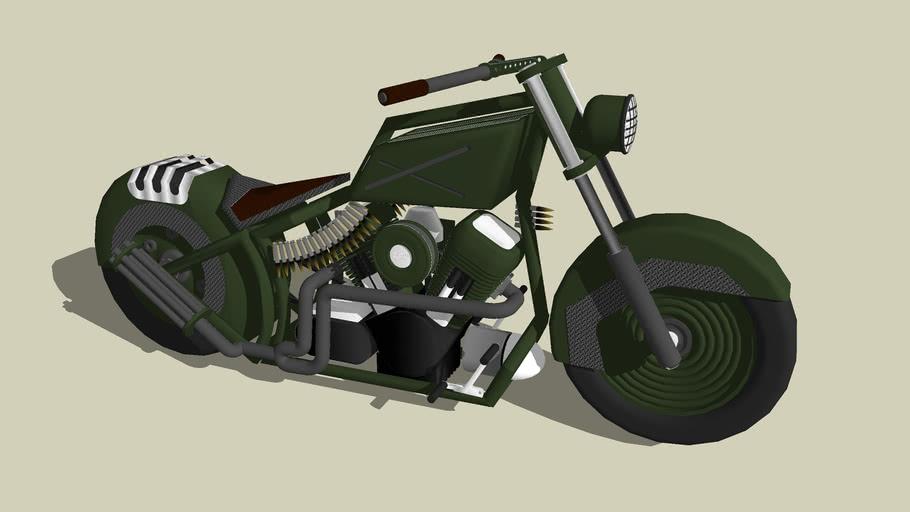 Tribute Army Theme Bike